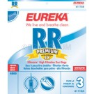 Eureka RR Filteraire Vacuum Bags 61115A / 61115B - Genuine - 3 Pack