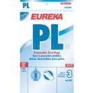Eureka PL Vacuum Bags 62389 - Genuine - 3 pack