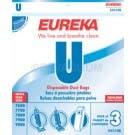 Eureka U Vacuum Bags 54310A, 54310B, 54310C  - Genuine - 3 Pack