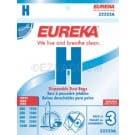 Eureka H Vacuum Bags 52323A - Genuine - 3 Pack
