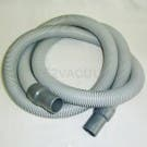 "HOSE, 10' X 1 1/2"" CRUSHPROOF W/CUFFS GRAY"