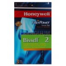 Honeywell FilterPower Vacuum Bags - Bissell Style 2