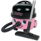 Numatic HET200 Hetty Hi Power Canister Vacuum Cleaner Pink with Auto Save Technology