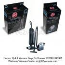 Hoover Type Q AH10000, Type I AH10005 Combo Kit for Hoover UH30010COM Platinum Combo - 2 Bags Each
