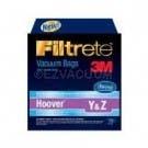 Hoover Y & Z Filtrete 3M Vacuum Bags - 3 Pack