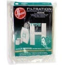 Hoover H30 Vacuum  Bags 40101001- Genuine - 5 bags + 1 filter / pack