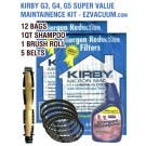 Kirby G3, G4, G5  Sentria Super Value Maintainence Kit