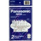 Panasonic MC-V195H Canister HEPA Filter for V9628 / V9638 - 2 Pack