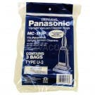Panasonic Type U-3 Bags MC-115P- Genuine -3 pack