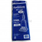 Panasonic Type U-3 Bags MC-115PT- Genuine -12 pack