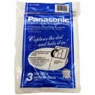 Panasonic Type U-6 Micron vacuum cleaner bags MC-V145MT- Genuine - 3 pack