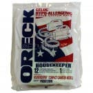 Oreck XL Housekeeper Compact Canister Vacuum Bags