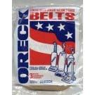 Oreck  0300604 Vacuum Cleaner Belt for all Oreck Uprights - Genuine - 3 Belts