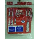 Royal/dirt devil 3720310001 Style 4/5 belts - Genuine - 2 pack