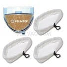 Reliable T1 Steamboy Cleaner Service Kit - 3 Mop pads + 1 Filter