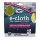 e-cloth Bathroom Pack, 2-Piece