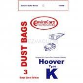 Hoover K Vacuum Cleaner Bags 4010028K - Generic - 3 Pack