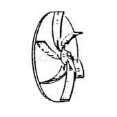 Royal Dirt Devil Hand vacuum Cleaner Fan Assembly - 1503004000 - Genuine