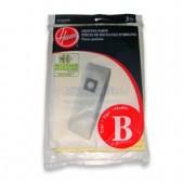 Hoover B  Allergen Filtration Vacuum  Bags 4010103B - Genuine - 3 pack