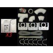 Hayden 3 Inlet Super Valve Central Vacuum Installation Kit - 793375W