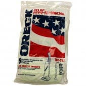 Oreck PK8000-9DW Upright XL *HYPO-ALLERGENIC* Vacuum Bags For Older Machines!- Genuine - 9 Pack