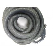 Plastiflex 30' Gray Hose for Central Vacuum Systems  805830GUVDC