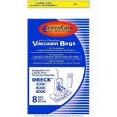 Oreck 8000-9DW  XL Upright *Micro Filtration* Bags NEW - 8 Pack