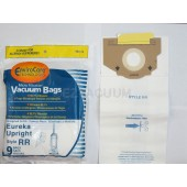 9 Eureka Type RR Upright Allergy Vacuum Bags, Omega Upright, Ultra, Boss Smart Vacuum Cleaners, 4800 Series...4870, 4874