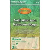 Hoover Y Vacuum  Bags ALLERGEN PERFORMANCE HEPA Cloth Bags - Generic - 3 Pack