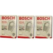 Bosch Style P Vacuum Cleaner Bags  BBZ52AFP2U - 3 Pack Bundle