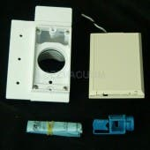 Supervalve III with 110V and Full Face Plate White # 792060