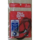 Dirt Devil 3210395001 Style 3 Vacuum Cleaner Belts - 2 Pack