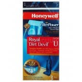 Honeywell FilterPower Micro-Filtration Vacuum Bags - Royal Dirt Devil Type U