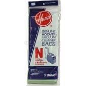 Hoover  N  Vacuum  Bags 4010038N- Genuine - 5 pack