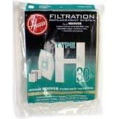 Hoover H30 Vacuum  Bags 40101001- Genuine - 5 bags + 1 filter / pack