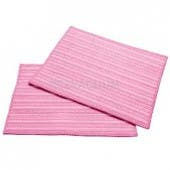Haan MF2P Pink  Ultra Microfiber Cleaning Pads - 2 in a pack