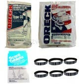 Oreck CC Vacuum Cleaning Kit - 6 Month Supply