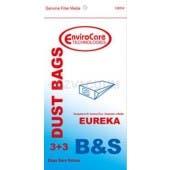 Eureka S - Generic - 3 Vacuum Bags + 3 filters/pack