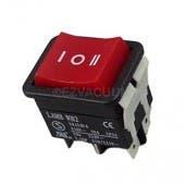 Filter Queen 2 Speed, 6 Terminal Rocker Switch 1302002503