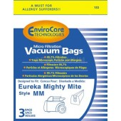 Eureka Style MM Envirocare Micro-Filtration Vacuum Bags - 3 Pack