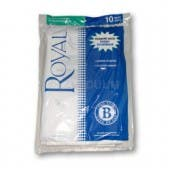 Royal Type B Vacuum Bags 2-066247-001 - Genuine - 10 pack
