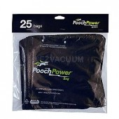 Pooch Power Shovel vacuum Waste Removal Refill Bags - 25 bags