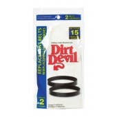 Dirt Devil 3-SN0220-001 Style 15 Vacuum Cleaner Belt - 2 pack