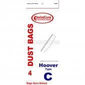 Hoover Style C Vacuum Bags 4010077C - Generic - 4 Pack