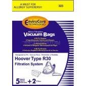 Hoover R30 Vacuum  Bags and 2 filters 40101002- Generic - 5 bags + 1 filter / pack