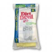 Royal Type D Microfresh Vacuum Bags 3-670075-001 - Genuine - 3 Pack