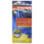 Honeywell FilterPower Micro-Filtration Vacuum Bags - Dirt Devil Type C