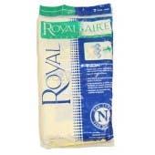 Royal Type N Vacuum Cleaner Bags 3-JS0370-001 - 7 Pack - Genuine