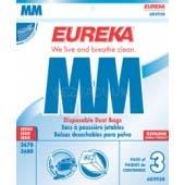 Eureka MM 60295B Canister Vacuum Bag - Genuine - 3 Pack