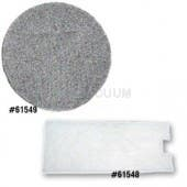 Eureka Model 970 Micro Vacuum Cleaner Filter Set - 61548  61549